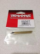 Traxxas Rustler / Stampede / T-Maxx Shock Shafts Titanium XX-Long (2) 2656T