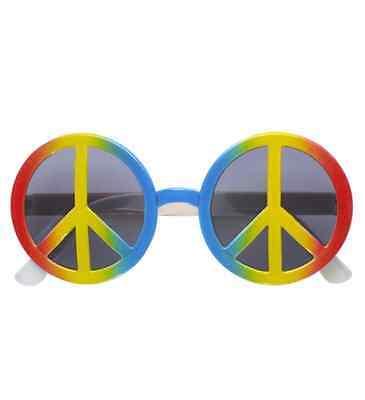 Peace & Love Occhiali Specifiche Costume Arcobaleno Cnd-mostra Il Titolo Originale Alta Qualità E Poco Costoso