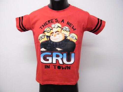 """NEW DESPICABLE ME /""""NEW gru/"""" YOUTH SIZE 14 T-SHIRT 69OS"""