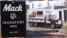 """MACK R-600 STRAIGHT TRUCK First Gear 1st """"MACK TRANSPORT SERIES"""" #203"""