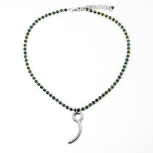 Bottines Femme Vert Irlandais Rainbow & Parachutisme Broche Pendentif Réglable Collier-nouveau!-afficher Le Titre D'origine