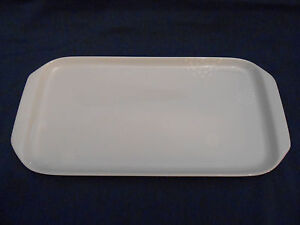 Image is loading Kahla-ceramic-rectangular-cake-plate -Tupperware-logo-serving- & Kahla ceramic rectangular cake plate Tupperware logo serving platter ...