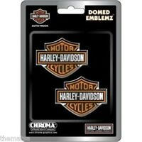 HARLEY DAVIDSON MOTORCYCLES DOMED LOGO EMBLEM STICKER DECAL