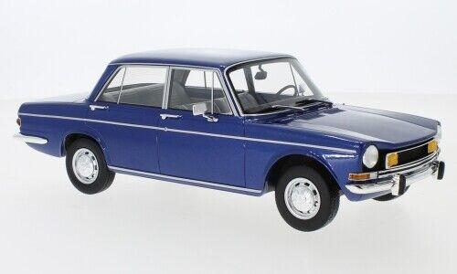 Simca 1501 Special 1970  metallic blau  1:18 BoS Models  *NEW COLOR*
