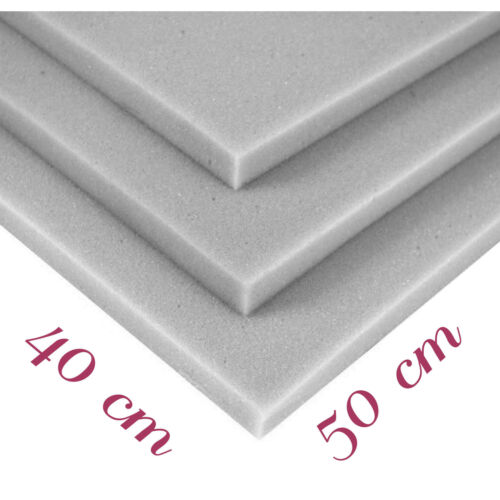 Schaumstoff Schaumstoffplatte Matratze Polster Schaum RG25//44 50x40x5cm P183
