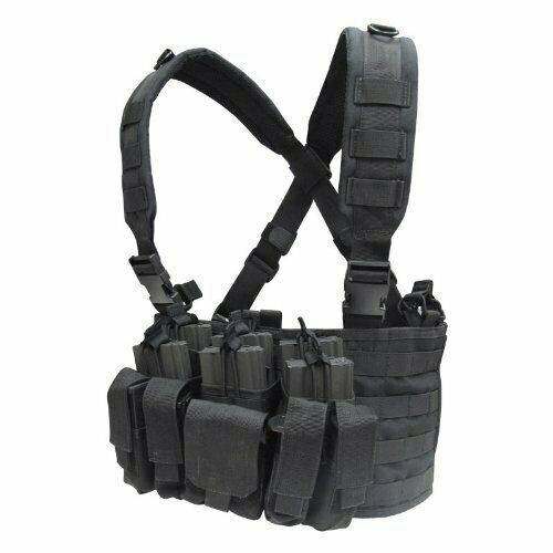 Tactical Combat Rapid Assault Chest Rig Harness Vest  Bag w  Magazine Pouches  there are more brands of high-quality goods