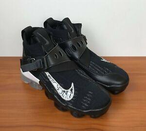 200eb2925fcd Image is loading Nike-Air-Vapormax-Premier-Flyknit-Black-Metallic-Silver-