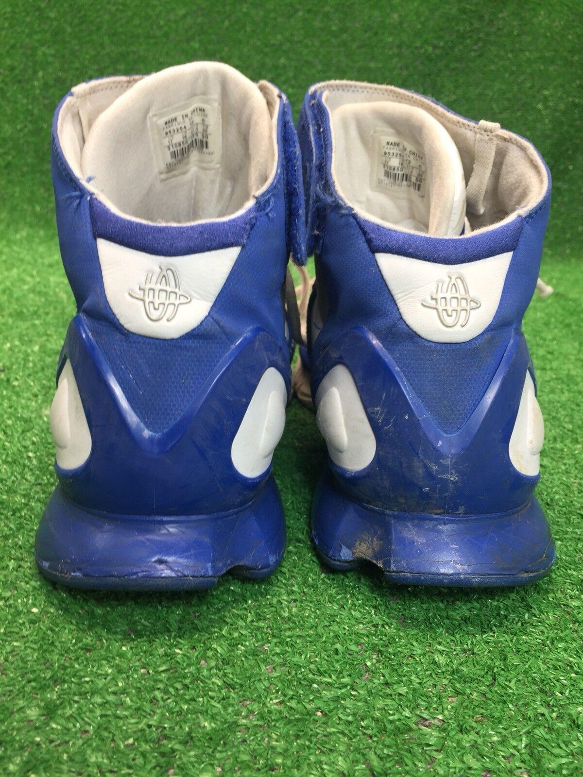 Raro nike air huarache 2k5 db db db kobe dimensioni 17 bianco e blu scarpe da basket dd5021