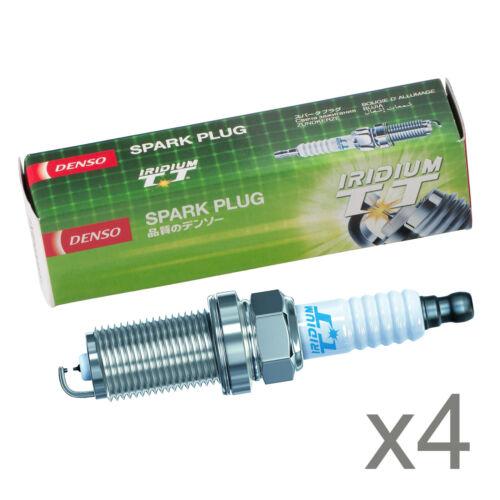 IK20TT 4702 Part No 4x Genuine Denso TT Iridium Twin Tip Spark Plugs