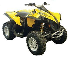 Can-AM-Renegade-800-Gen-1-ATV-fender-flares-mud-guards-over-fenders
