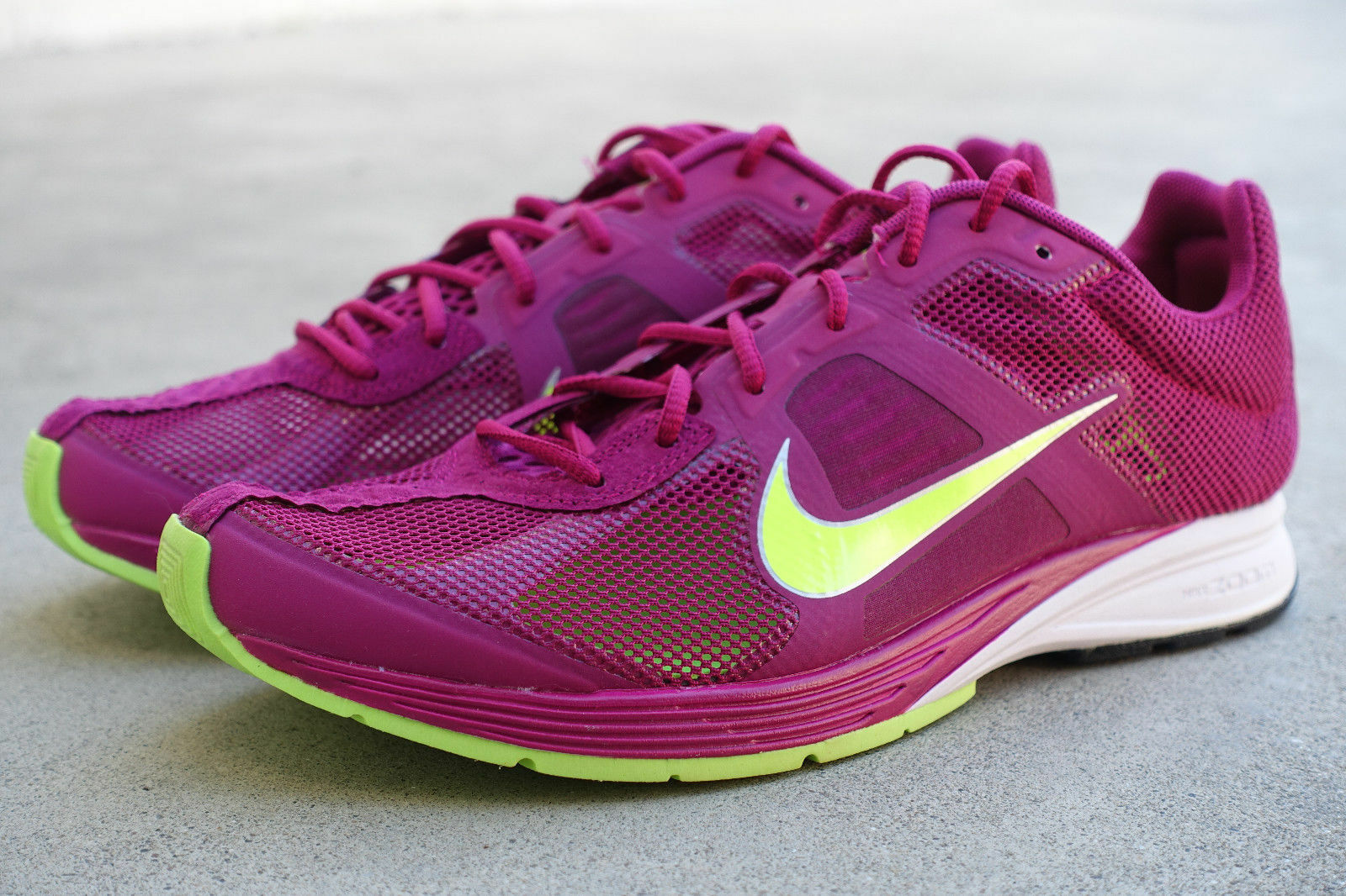 Nike Zoom Streak 4 Running shoes Sz Men-5.5     Wmn-7 NEW 511591 507 BrightMagenta ee57f9
