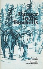 Danger in the Foothills (of Alberta, Canada) by Chuck Costello