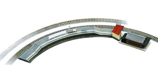 Tomytec (Building 060) Station E C280 curve platform 1/150 N scale