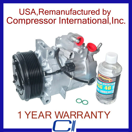 2007-2008 G35 Sedan OEM Reman A//C Compressor