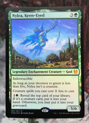Extended Art Nylea/'s Intervention Near Mint Foil English Theros Beyond Death MTG