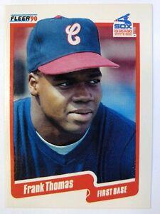 1990-90-Fleer-Update-Frank-Thomas-Rookie-RC-U-87-Chicago-White-Sox-HOF