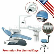 Fda Dental Unit Chair Unit Tj2688 A1 Computer Control Hard Leather With Stool Fda
