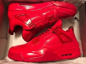online retailer 10290 1da80 Image is loading Air-Jordan-4-11Lab4-2015-034-University-Red-