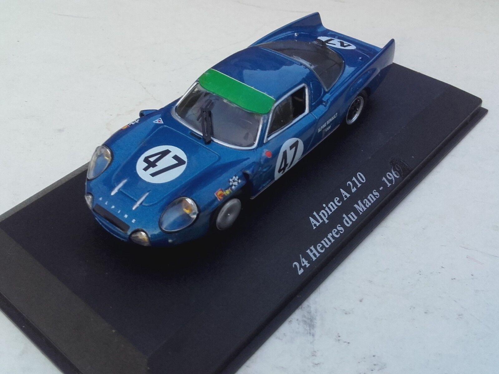 Alpine a210 n 47 24 hours of le mans 1967 1 43 surrender