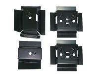 78-88 Monte Carlo Ss Ls Cl Malibu 4 Piece Bucket Seat Mount Conversion Kit