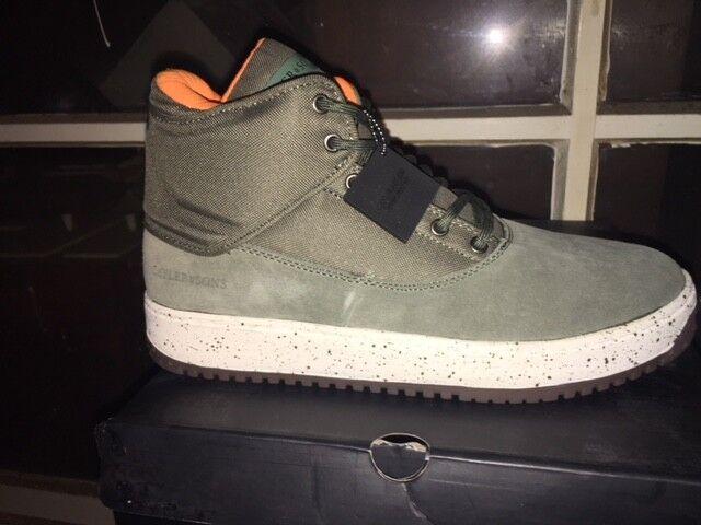 Caylor & Sons Chaussures Bottes D'hiver Neuf Shutdown Army Green/orange Gr:45 Us:11 De Haute Qualité Et Peu CoûTeux