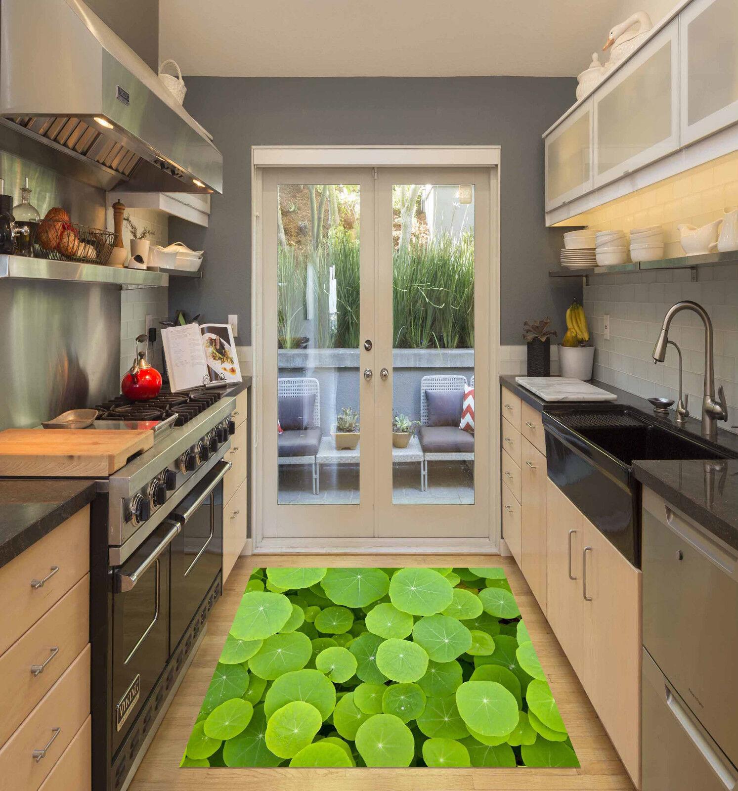 3D Belles Plantes verdees 50 Décor Mural Murale De Mur De Cuisine AJ WALLPAPER FR