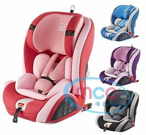 MCC® ISOFIX Baby Car Seat Group 1/2/3 9-36kg ECE R44/04 | eBay