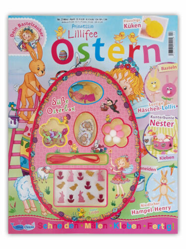 /& Malspaß süße Osterbox 2//2019 rätseln Bastel Prinzessin Lillifee Magazin Nr