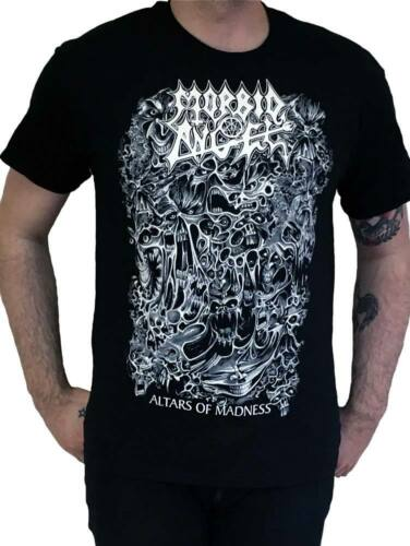 """NEW OFFICIAL Morbid Angel /""""Altars Of Madness/"""" Vintage T-shirt"""