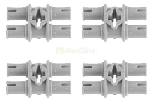 4x LEGO® Technic 32138 2-fach Doppelpinverbinder neu-hellgrau NEU