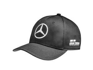 b5c12080 Detalles de Genuine Mercedes-Benz F1 AMG Petronas Negro 2018 Lewis Hamilton  gorra B67996127- ver título original