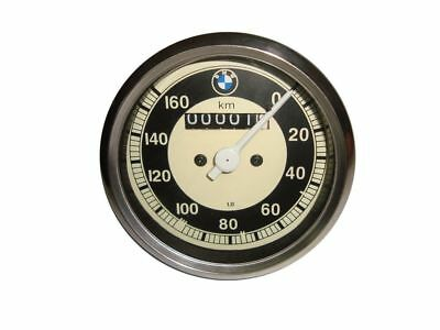 Per Bmw Replica Contachilometri 0-160 Mph Bianco Lato Metallo Cased R25 R26 & Vendita Calda Di Prodotti