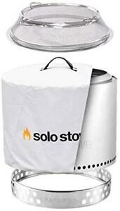Solo Stove Ranger Backyard Bundle Fire Pit Stand Carry Case Waterproof Shelter