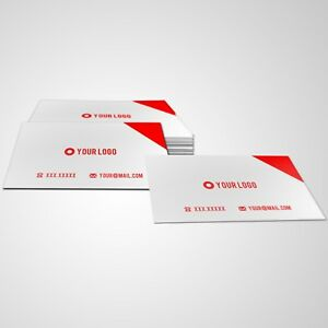image is loading print 1000 custom business cards matte finish single - Print Custom Business Cards