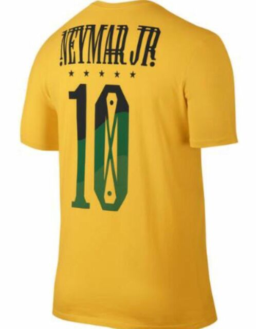 Nike sz XL Men/'s NEYMAR JR BRAZIL HERO FOOTBALL SOCCER T-Shirt NEW 838155-703