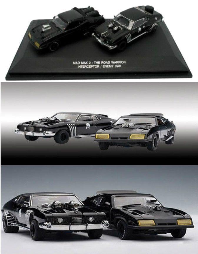 1 43 Autoart Mad Max 2 Road Warrior Interceptor + Enemy For
