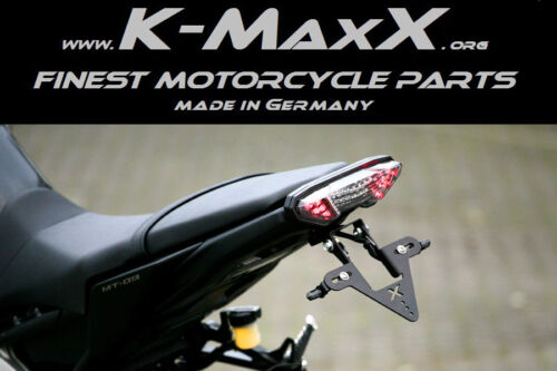 Made in Germany Réglable support de plaque d/'immatriculation pour yamaha mt-09