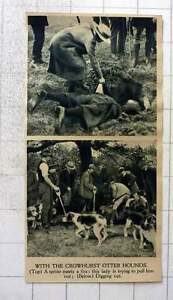1919-With-The-Crowhurst-Otter-Hounds