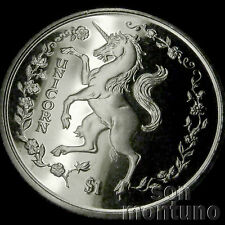 1997 Sierra Leone - UNICORN - CuNi $1 One Dollar Unc BU Copper Nickel Coin