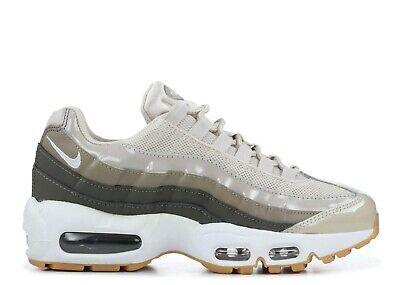 100% Vero Nike Air Max 95 Desert Sand Taglia Uk 4.5 307960 011-mostra Il Titolo Originale Fabbricazione Abile