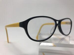 024848636fa Eye Buy Direct Yellow And Black Eyeglasses FRAMES ONLY glazov 54-15 ...