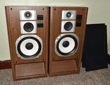 Pair Vintage Technics Super Bass Loading 3 Way Speaker System Model Sb2765