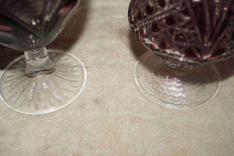 Glas, krystal pokaler, rømer