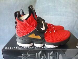 95530fe1f484 Nike LeBron XV 15 Prime Diamond Turf Deon Sanders AO9144-600 Size 8 ...