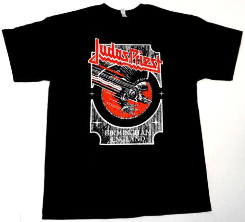 JUDAS PRIEST T-shirt Screaming For Vengeance Birmingham England Tee Men M-3XL
