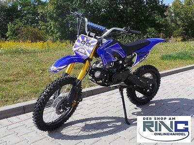 Dirt Bike 125 ccm 17/14 Räder Cross Vollcross Pocketbike Pit Enduro 125cc pocket