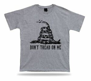 Don/'t Tread on Me Gadsden Snake Gun Shirt