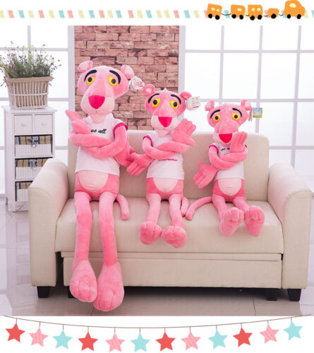 50cm Animation Pink Panther Stuffed Animal Plush Doll Baby Toy Gifts Kids Cotton