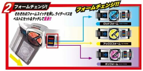 Masked Kamen Rider Den-O DX Den-O Belt 20th ver Henshin Belt set Bandai