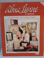 Alma Lynne Country Cat Collection Counted Cross Stitch Graph Book